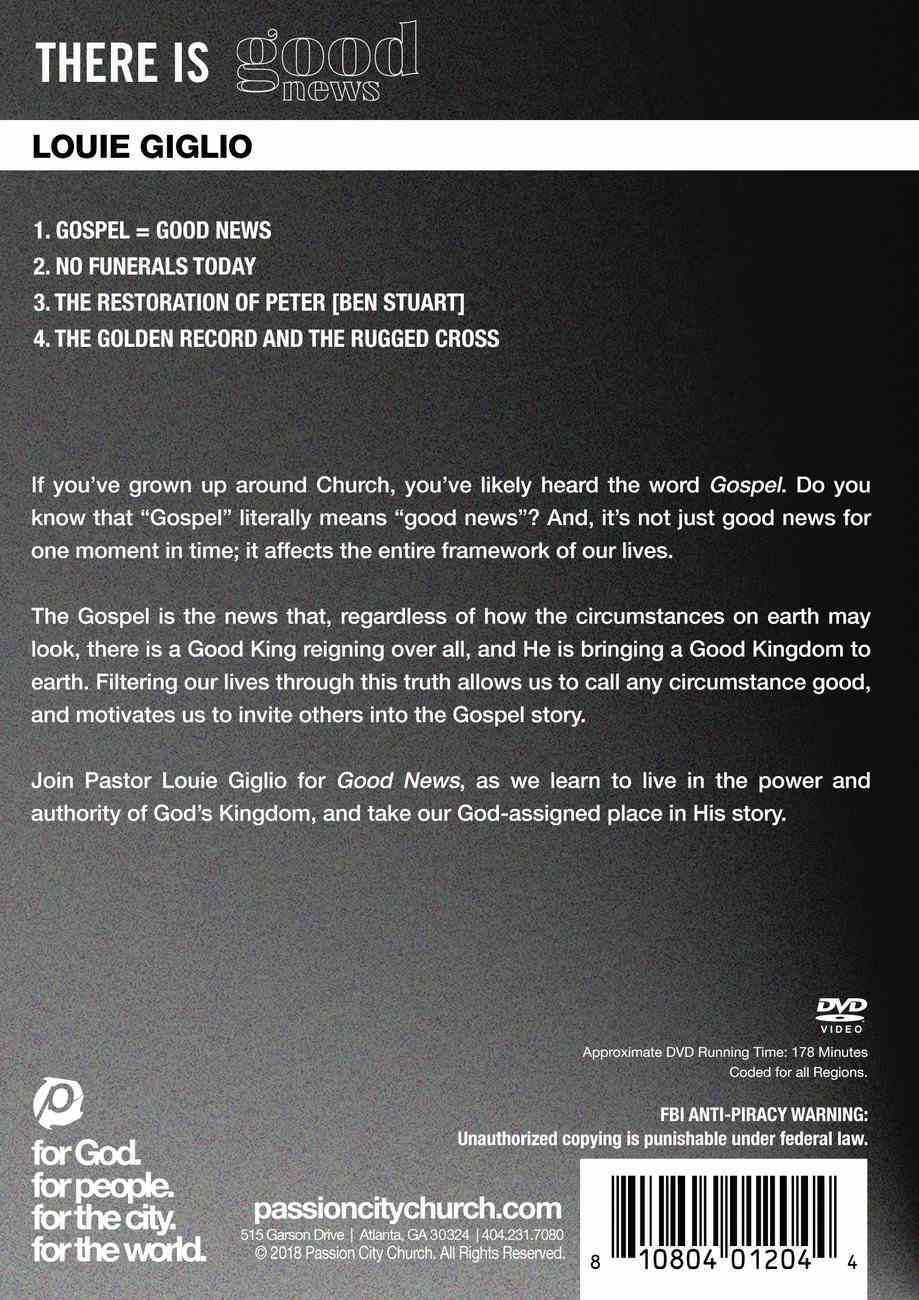 There is Good News DVD