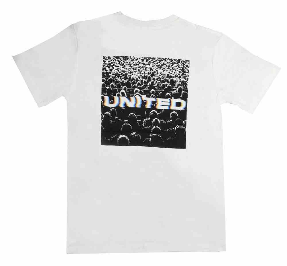 T-Shirt: People United Large White Soft Goods