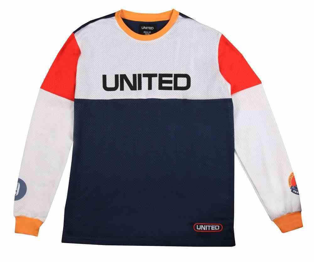 T-Shirt: United Long Sleeve Moto X Jersey Medium Soft Goods