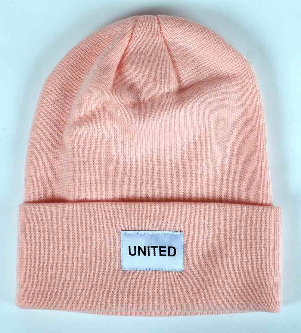 United Beanie: One Size Blush Soft Goods