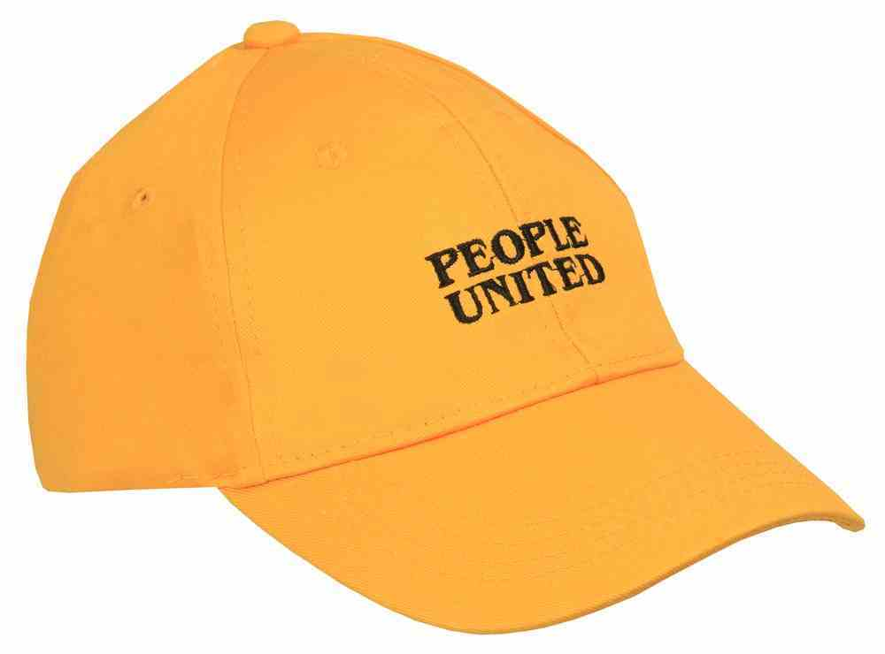 United Cap: People United One Size Mustard Soft Goods