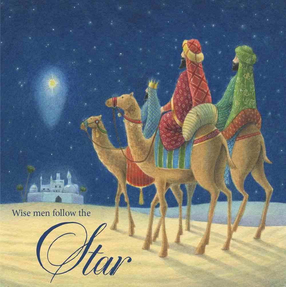 Christmas Boxed Cards Three Wisemen Follow the Star Box