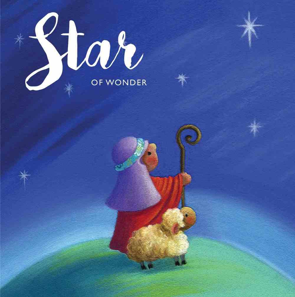 Christmas Boxed Cards Shepherd With Sheep on Hill, Star of Wonder Box