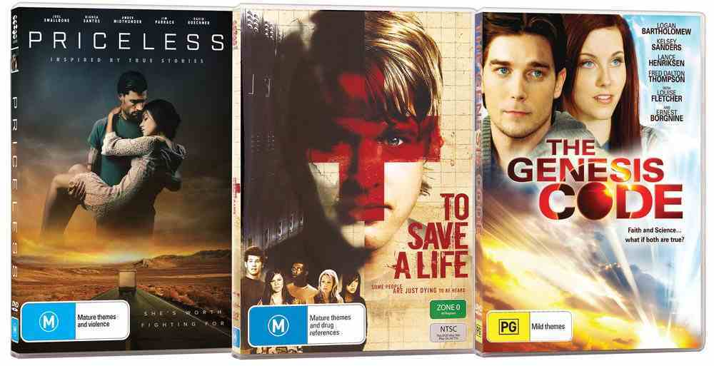 Movie Triple Pack #02 (Priceless/to Save A Life/genesis Code) DVD