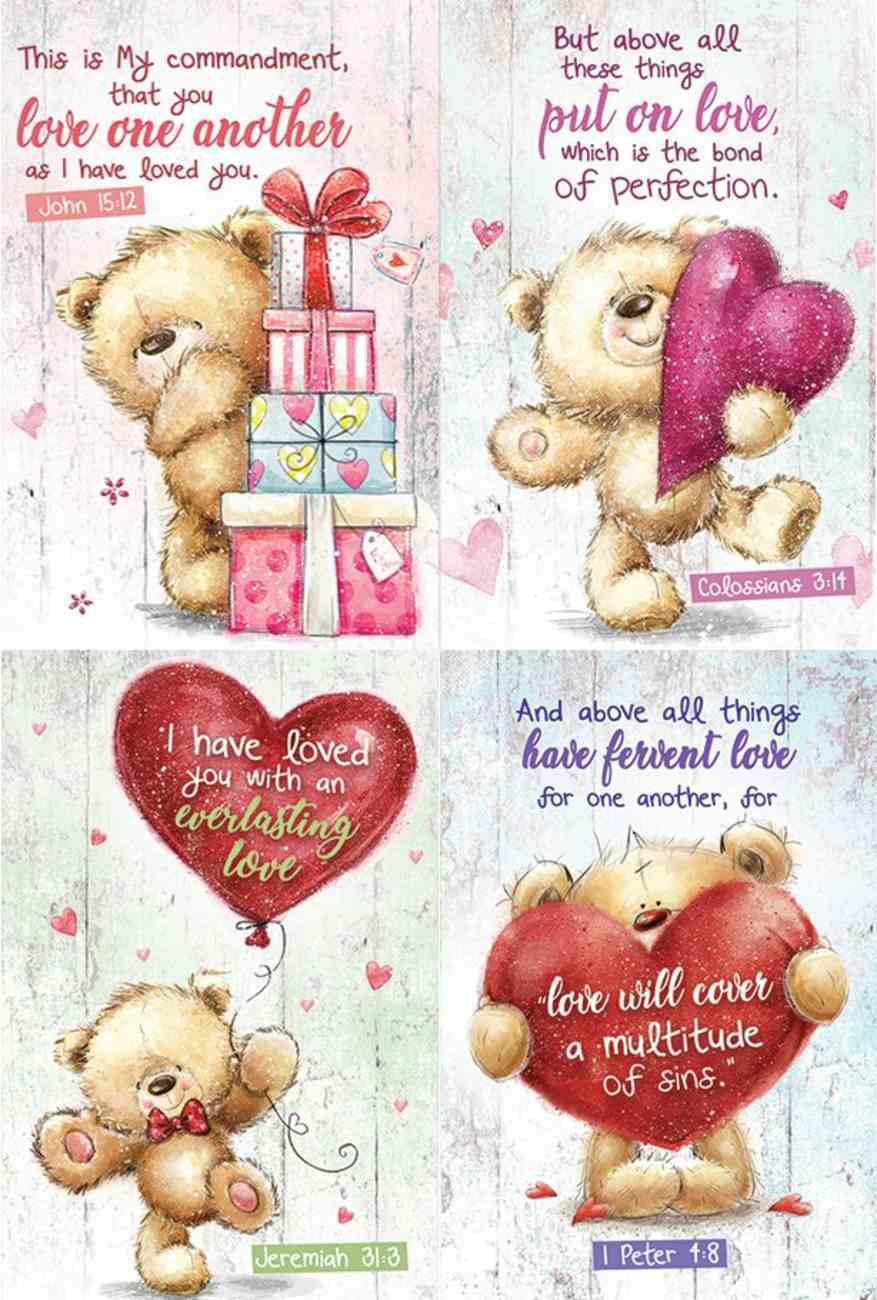 Notepad Set of 4: Teddy Bear Series Stationery