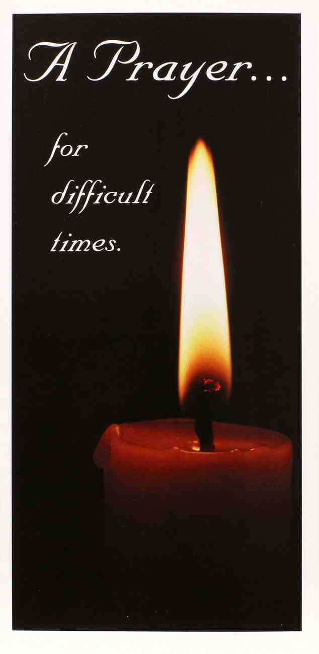 A Prayer... For Difficult Times Booklet