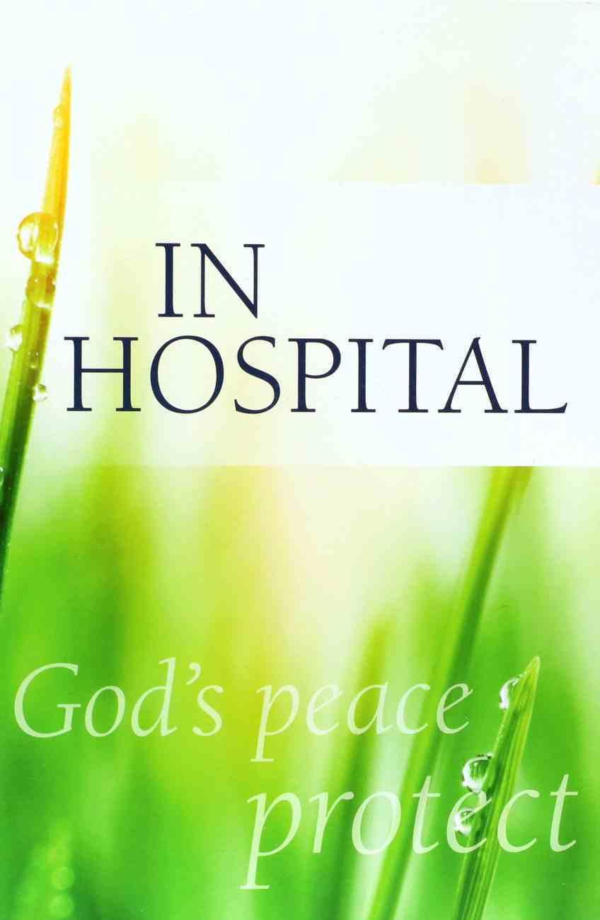 In Hospital (Cev) Booklet