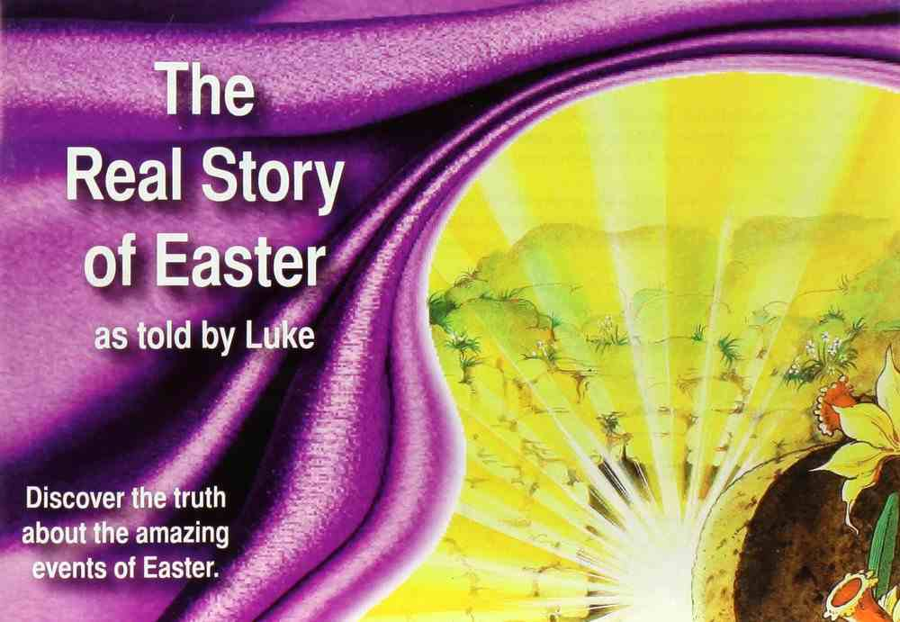 NIV the Real Story of Easter as Told By Luke Paperback