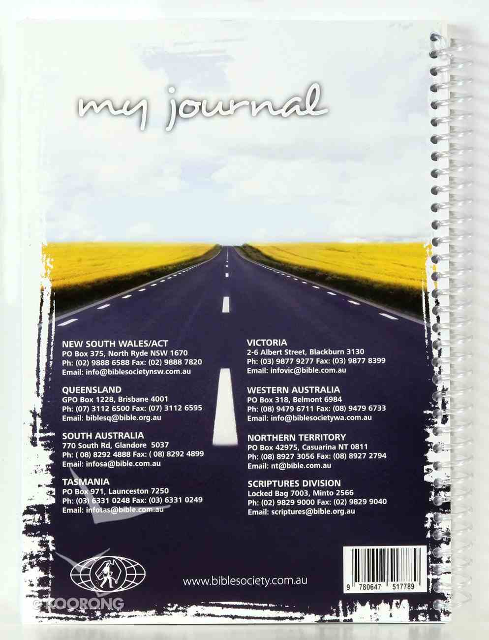 Spiral Softcover Journal: My Journal (Praying The Scriptures) Spiral