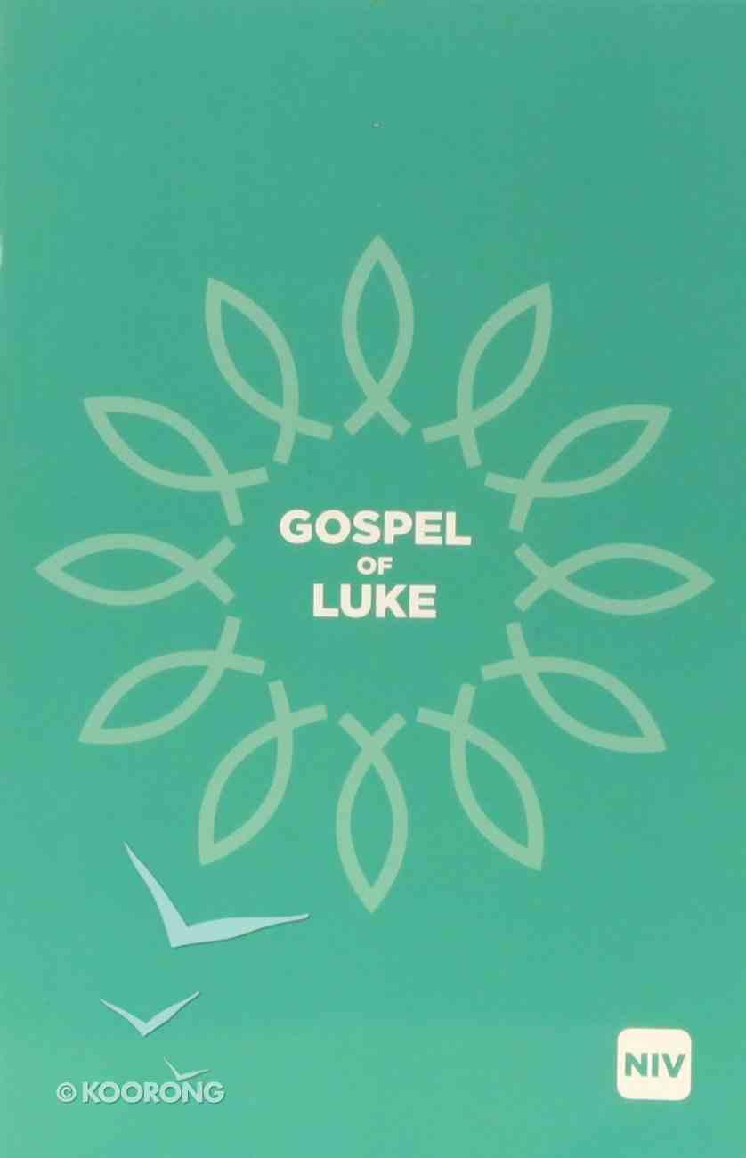 NIV Gospel of Luke Black Letter Paperback