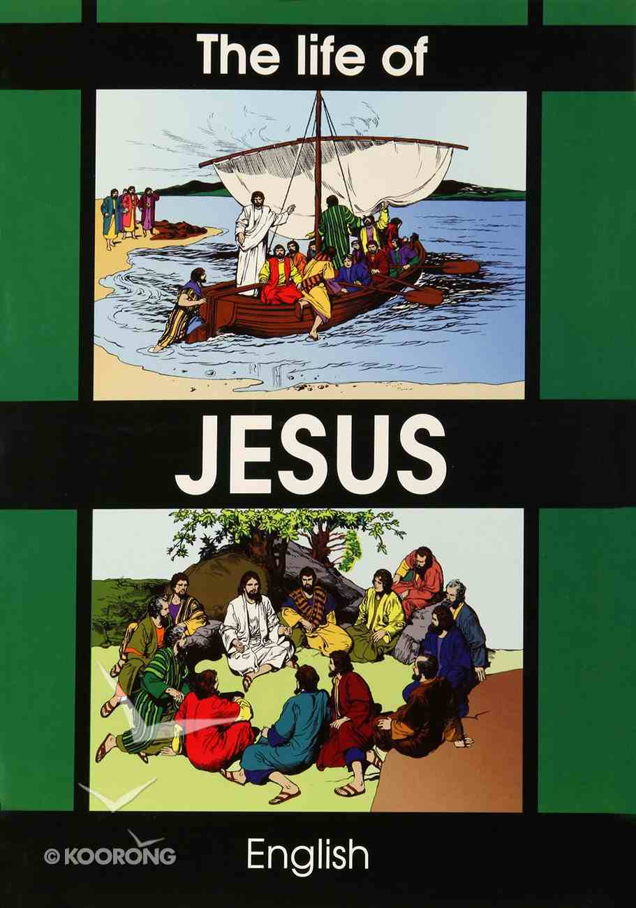 The Life of Jesus: Colouring Book Booklet