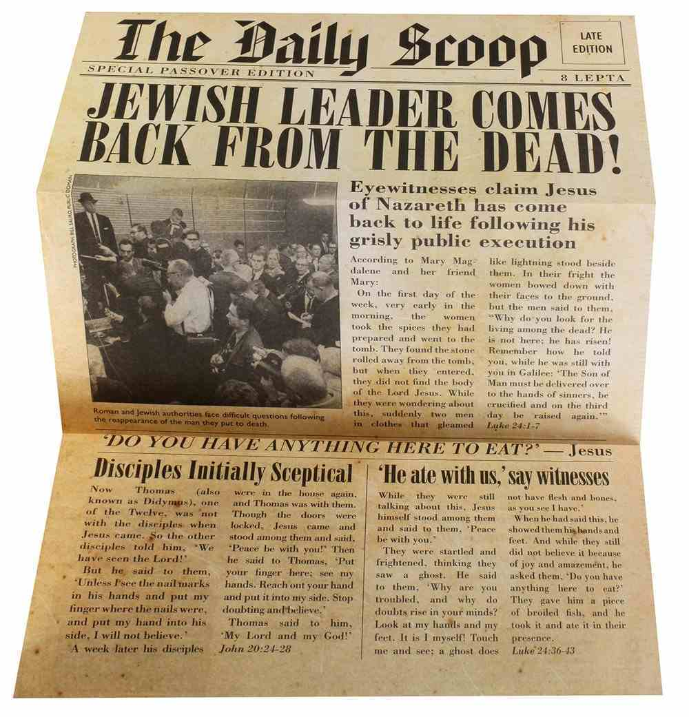 The Daily Scoop Pamphlet