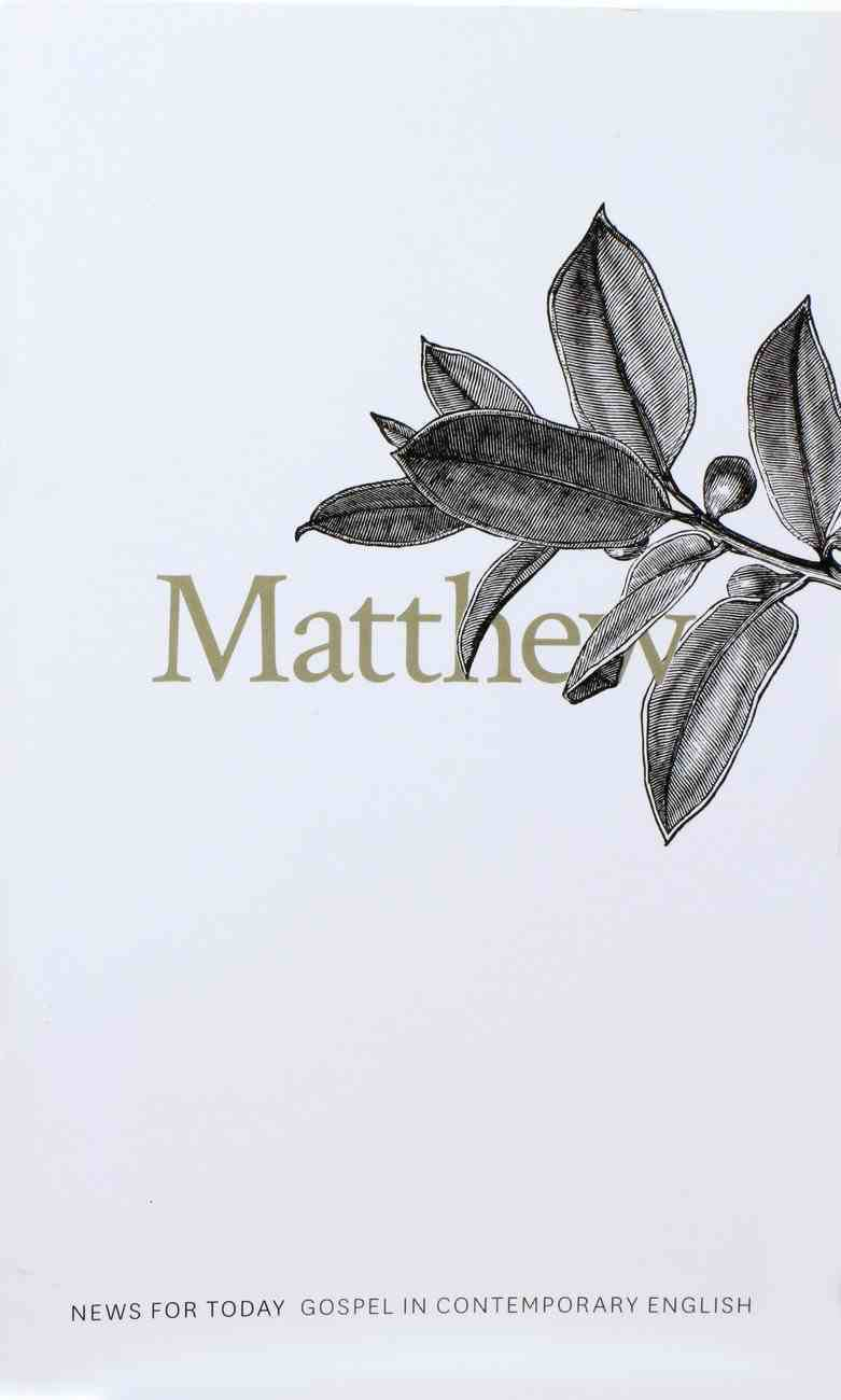 CEV Gospel of Matthew Paperback