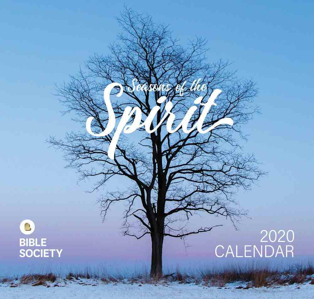 2020 Wall Calendar: Seasons of the Spirit Calendar