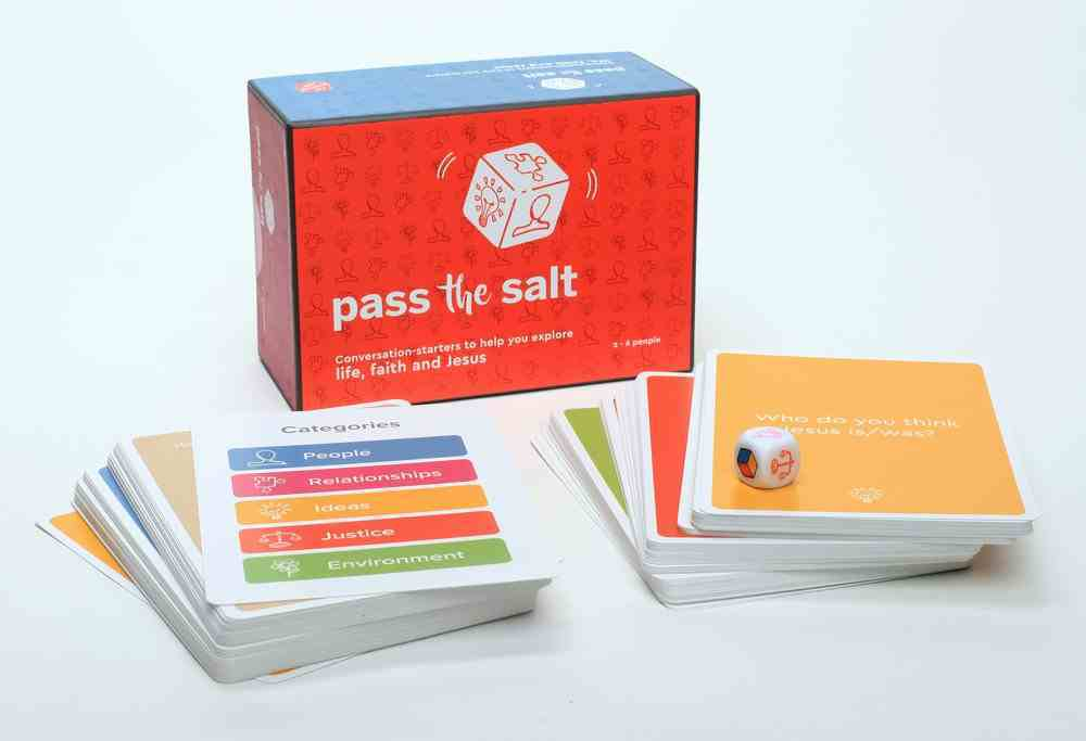 Pass the Salt: Converstions-Starters to Help You Explore Life, Faith and Jesus (For 2-6 People, 15 Yrs +) Box