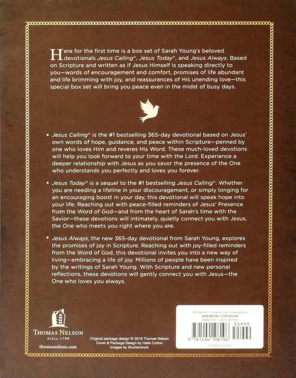 Jesus Calling Collection (3 Book Boxed Set) Hardback