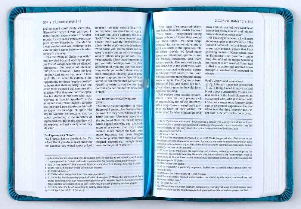 TPT New Testament Compact Teal (With Psalms, Proverbs, And Song Of Songs) Imitation Leather