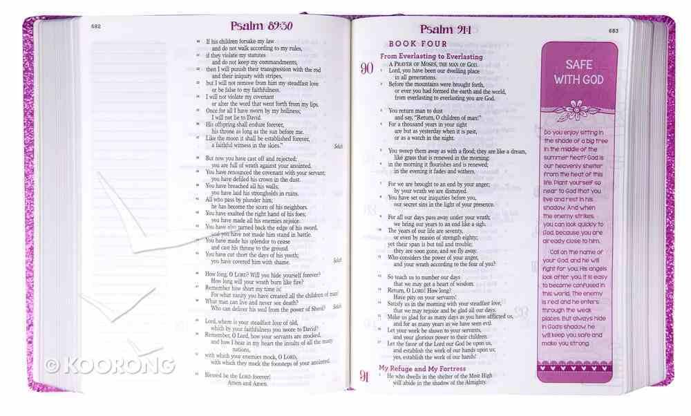 ESV My Creative Bible Purple Glitter Hardcover Hardback