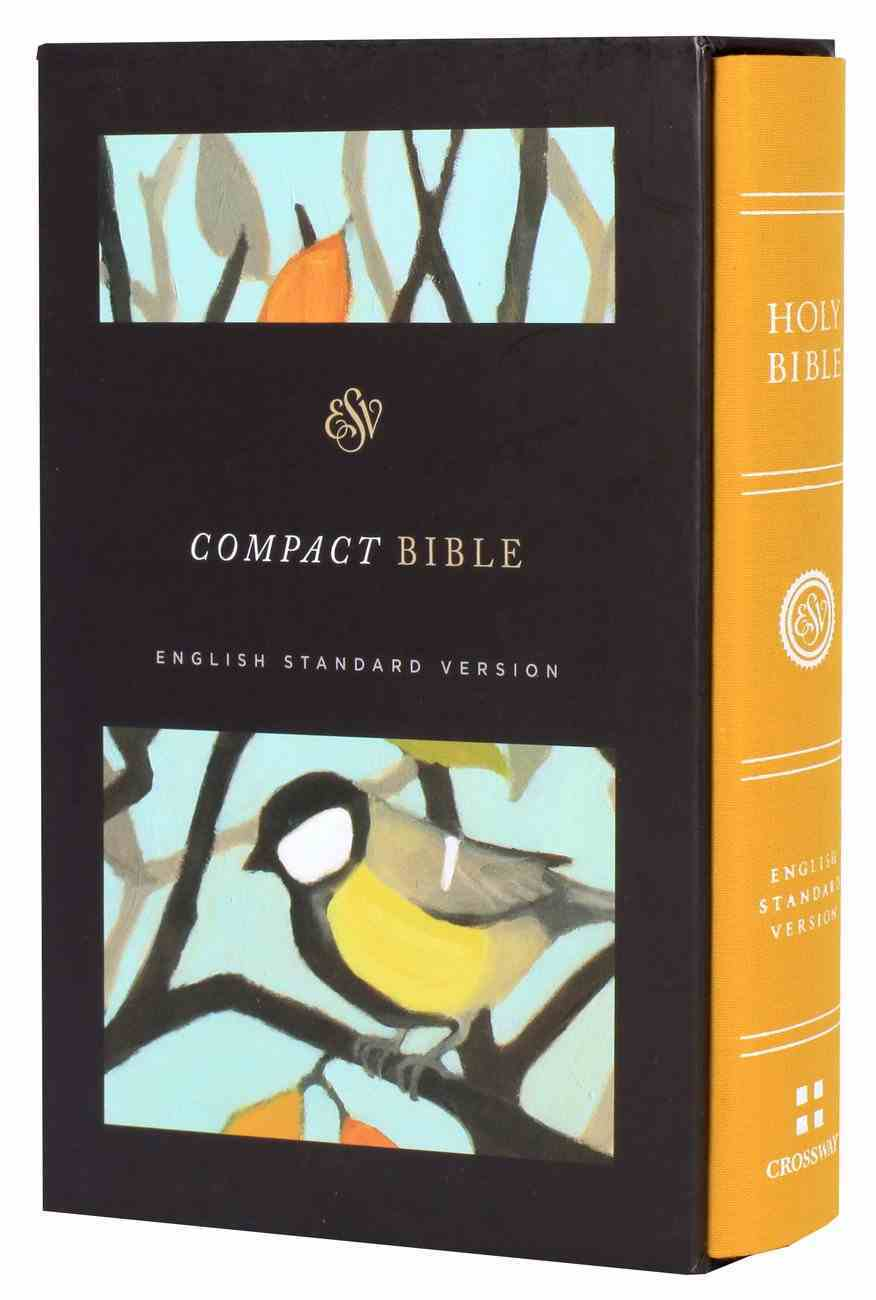 ESV Compact Bible Autumn Song (Black Letter Edition) Hardback