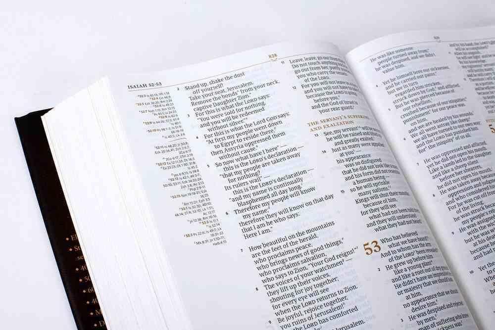 CSB Tony Evans Study Bible (Black Letter Edition) Hardback