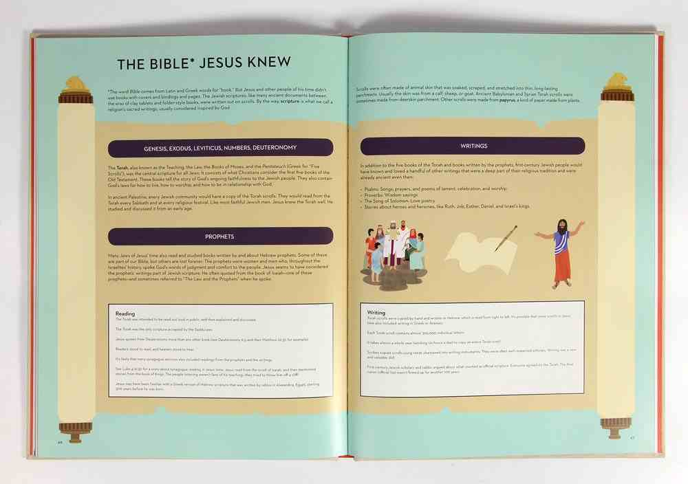 The World Jesus Knew: A Curious Kid's Guide to Life in the First Century Hardback