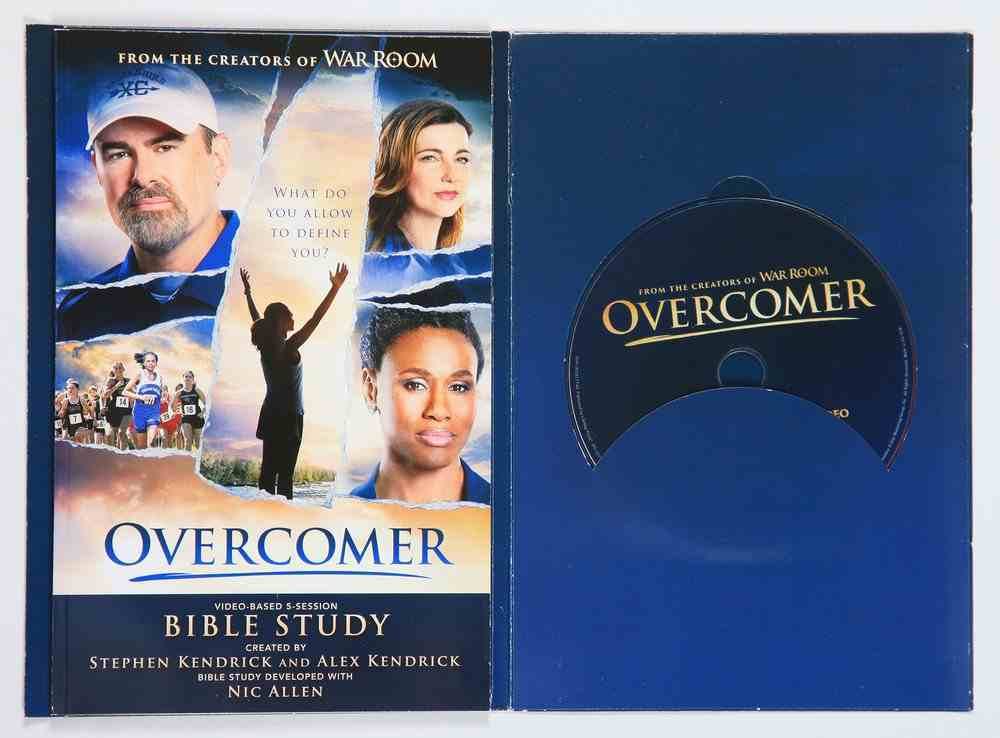 Overcomer Includes Study DVD and Workbook (5 Sessions) (Leader Kit) Pack