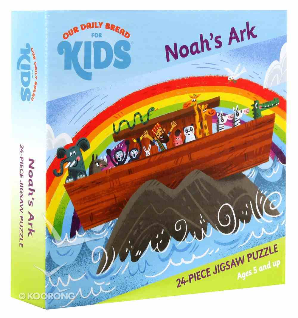 Jigsaw Puzzle: Noah's Ark (24 Pieces) Box