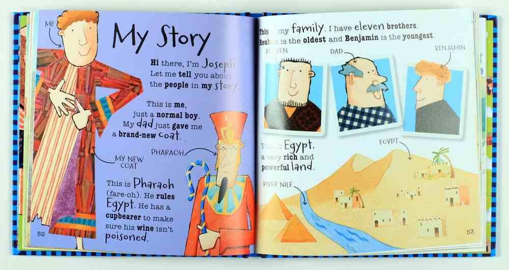 Heroes of the Bible: Noah, Daniel, Joseph and David Hardback