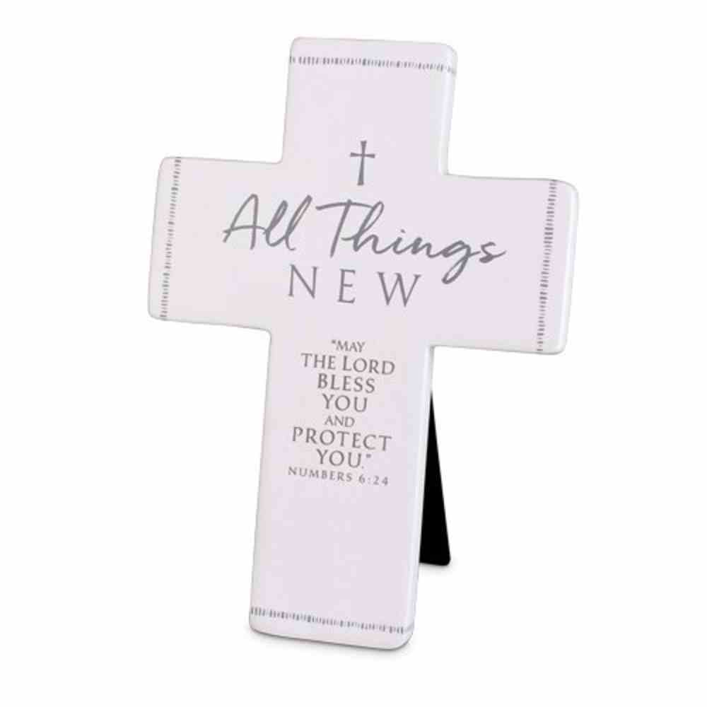 Cross Precious Occasions: All Things New, Cast Stone (Numbers 6:24) Homeware