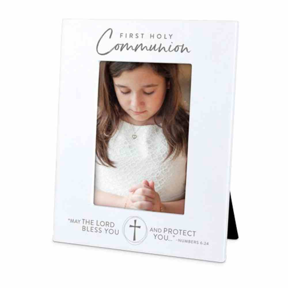 Photo Frame Precious Occasions: First Holy Communion, Cast Stone (Numbers 6:24) Homeware