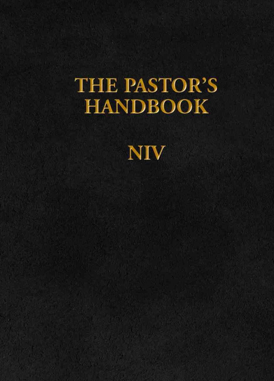 The Pastor's Handbook (Niv) Hardback