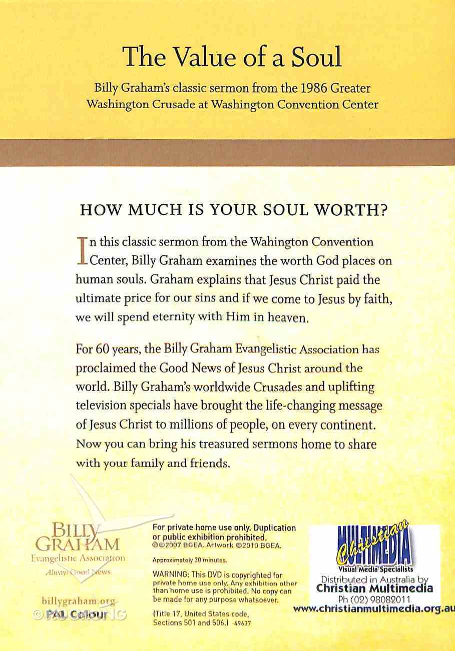 Value of the Soul (Classic Crusade Message Series) DVD