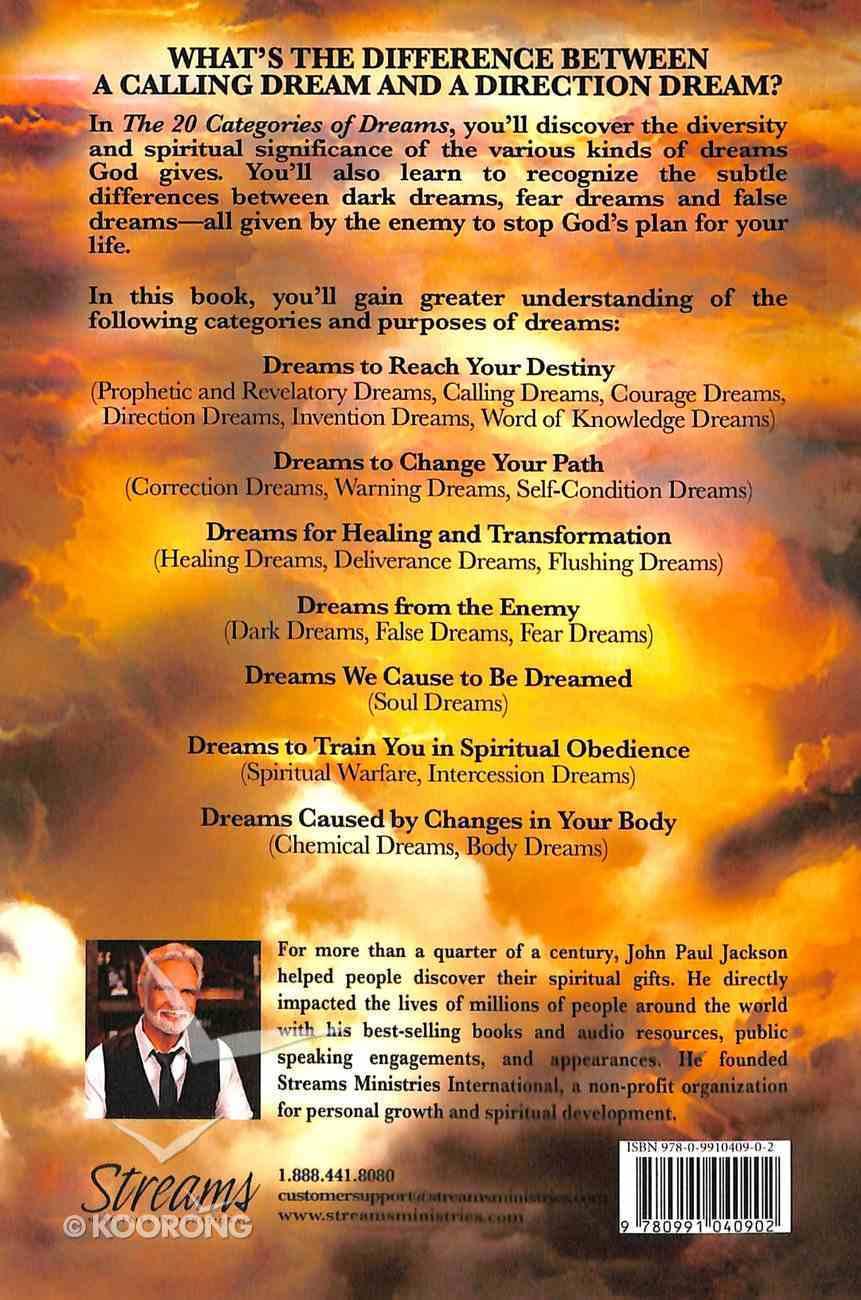 20 Categories of Dreams Paperback
