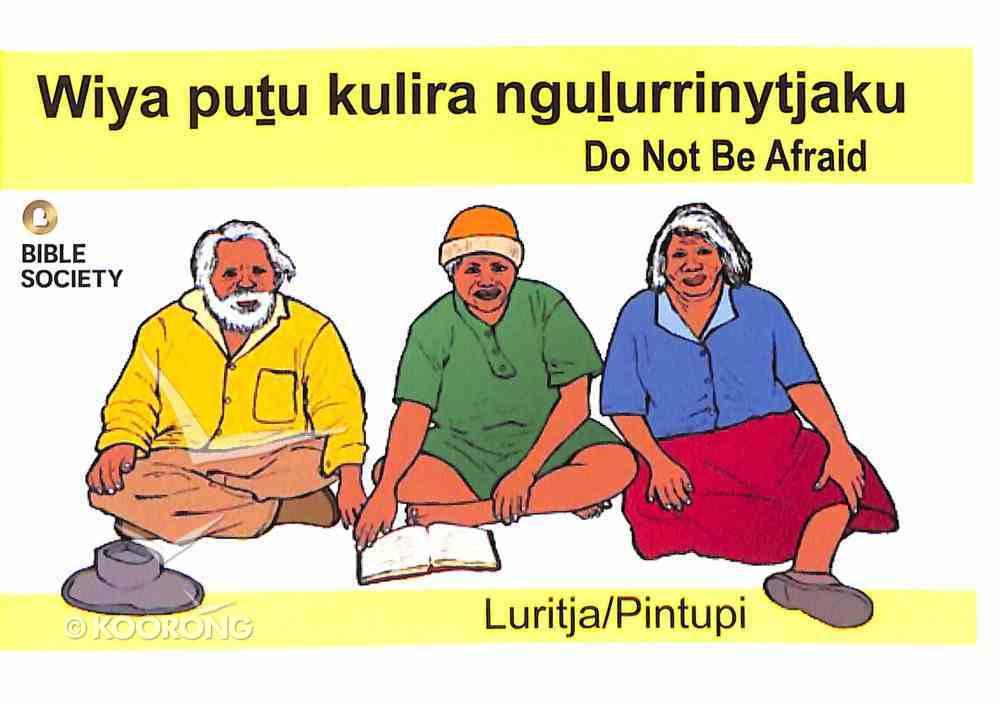 Do Not Be Afraid (Luritja/pintupi) Booklet