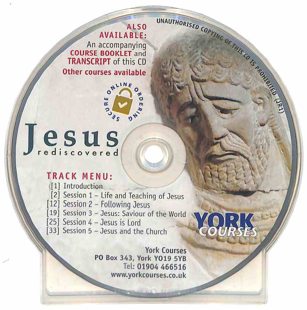 Jesus Rediscovered (CD Audio) (York Courses Series) CD
