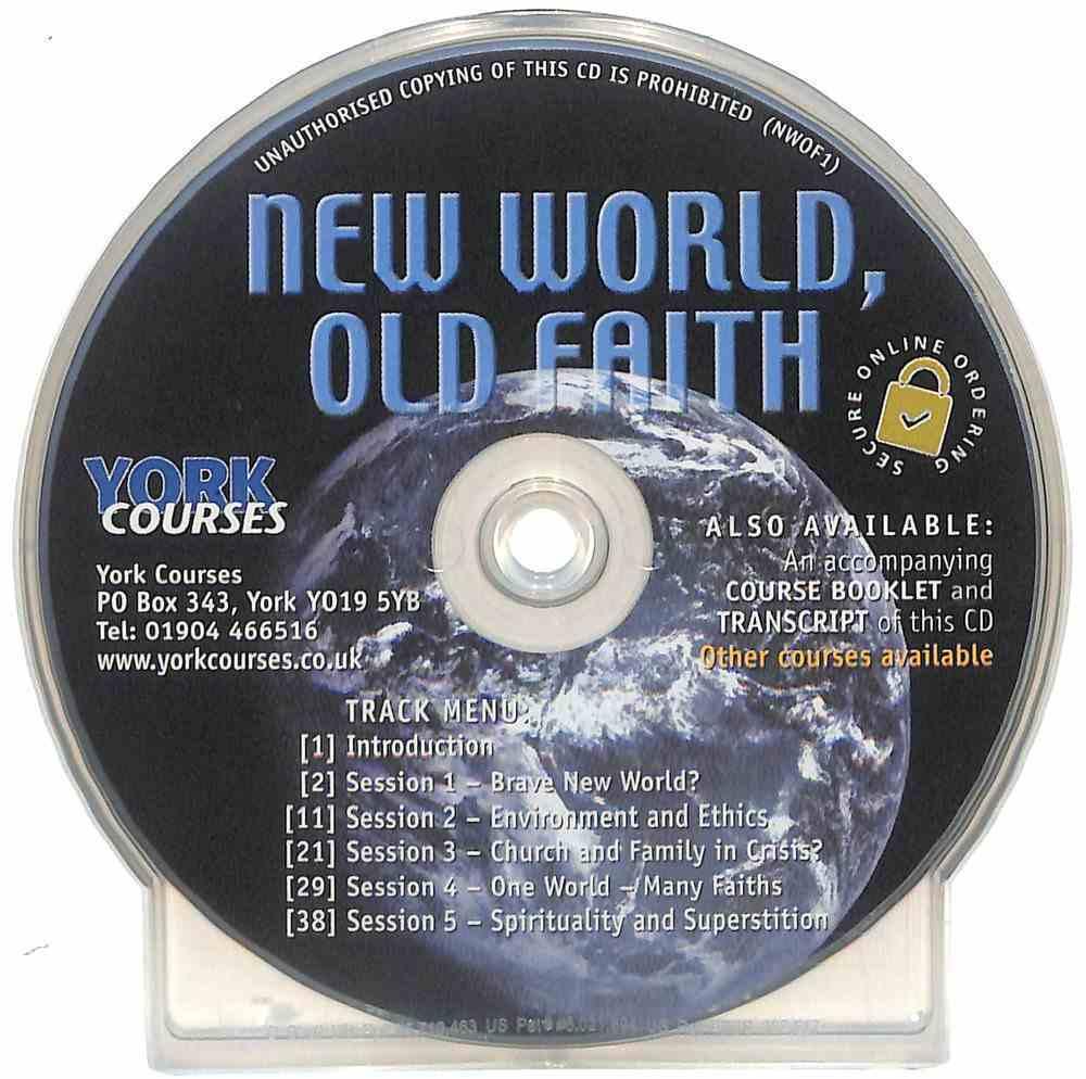 New World, Old Faith (Cd-Audio) (York Courses Series) CD