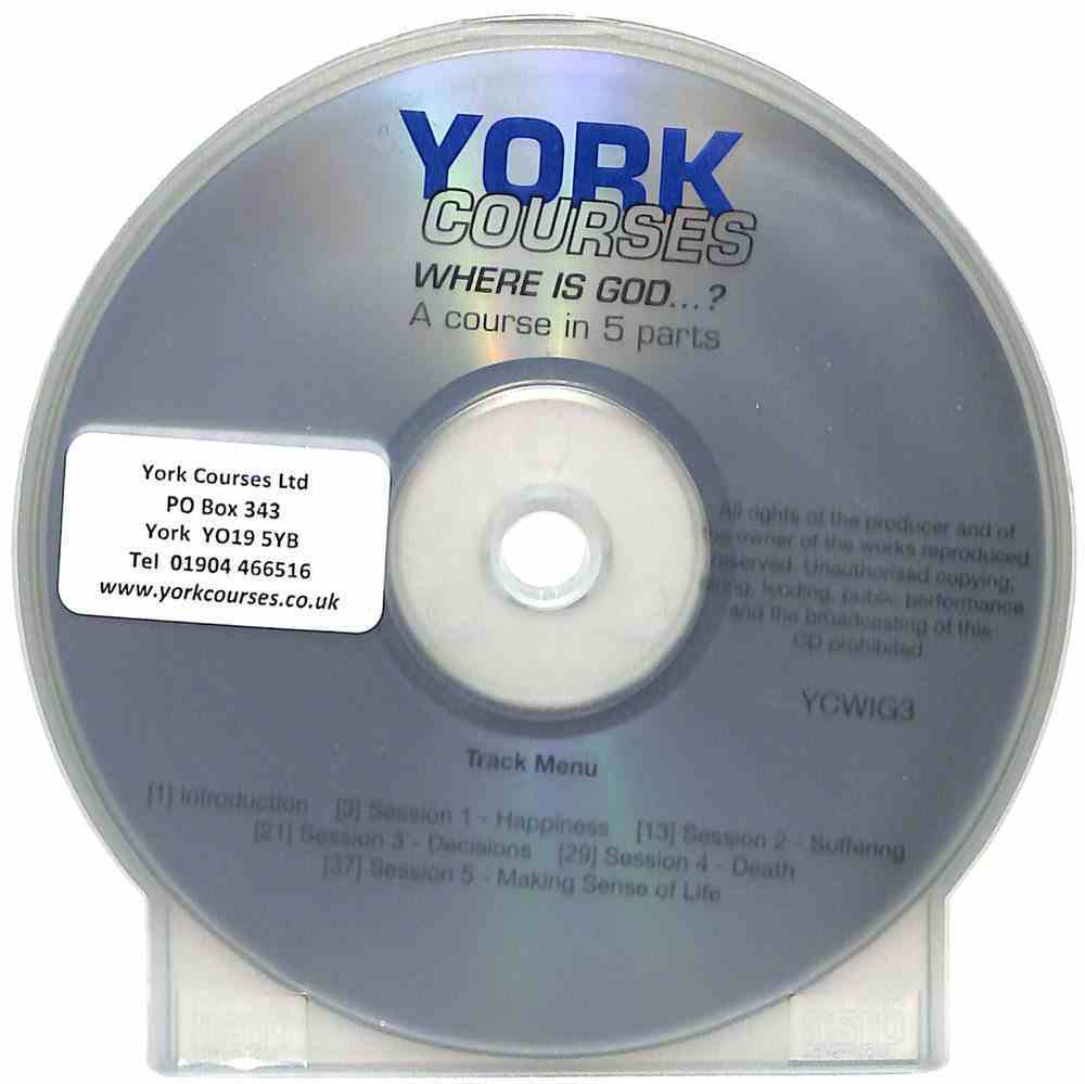 Where is God...? (Cd-Audio) (York Courses Series) CD