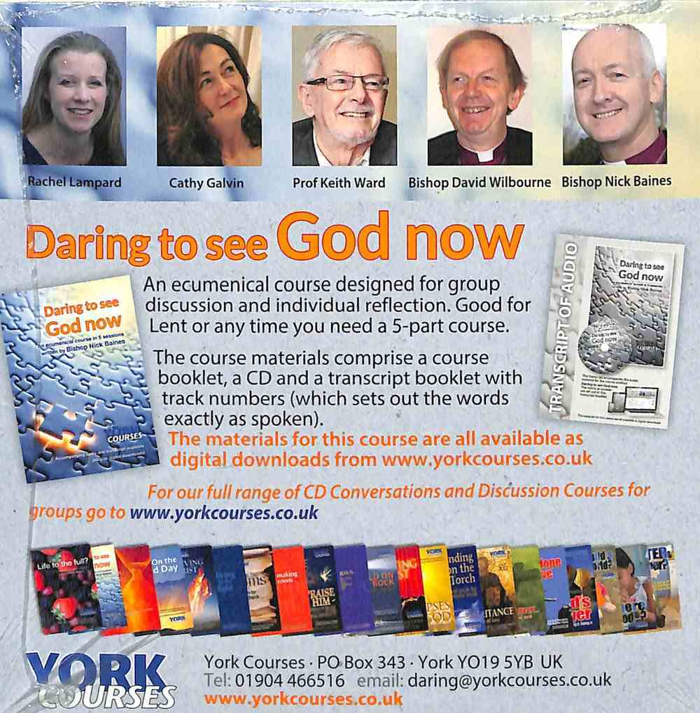 Daring to See God Now (Cd-Audio) (York Courses Series) CD