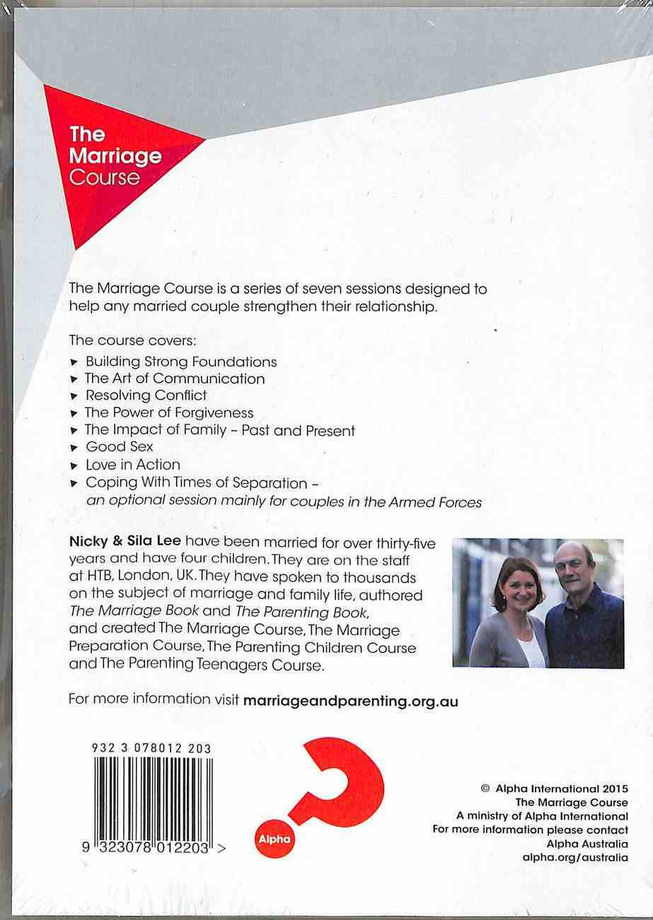 Marriage Course Pack (4 Dvd Set Plus Leader's Guide) Pack