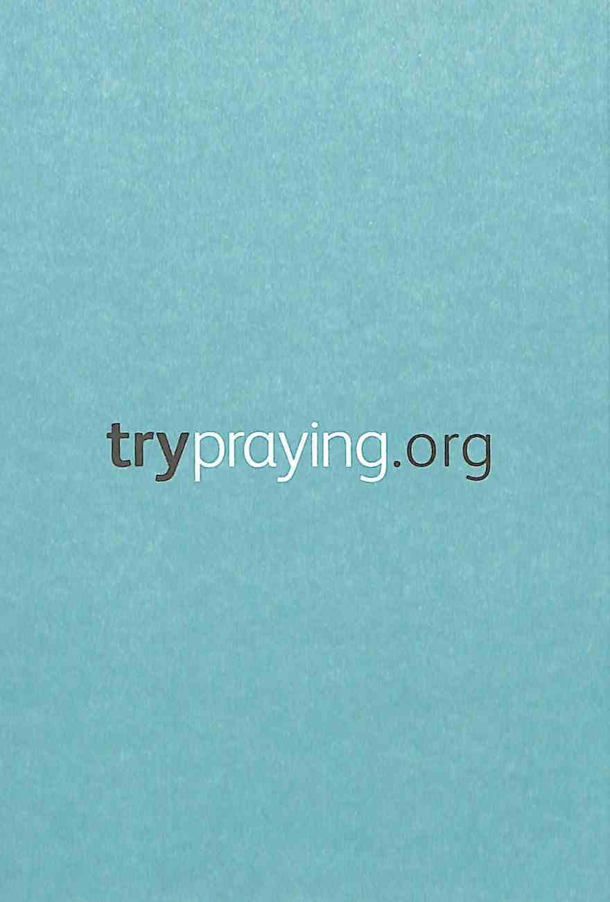 Try Praying Booklet