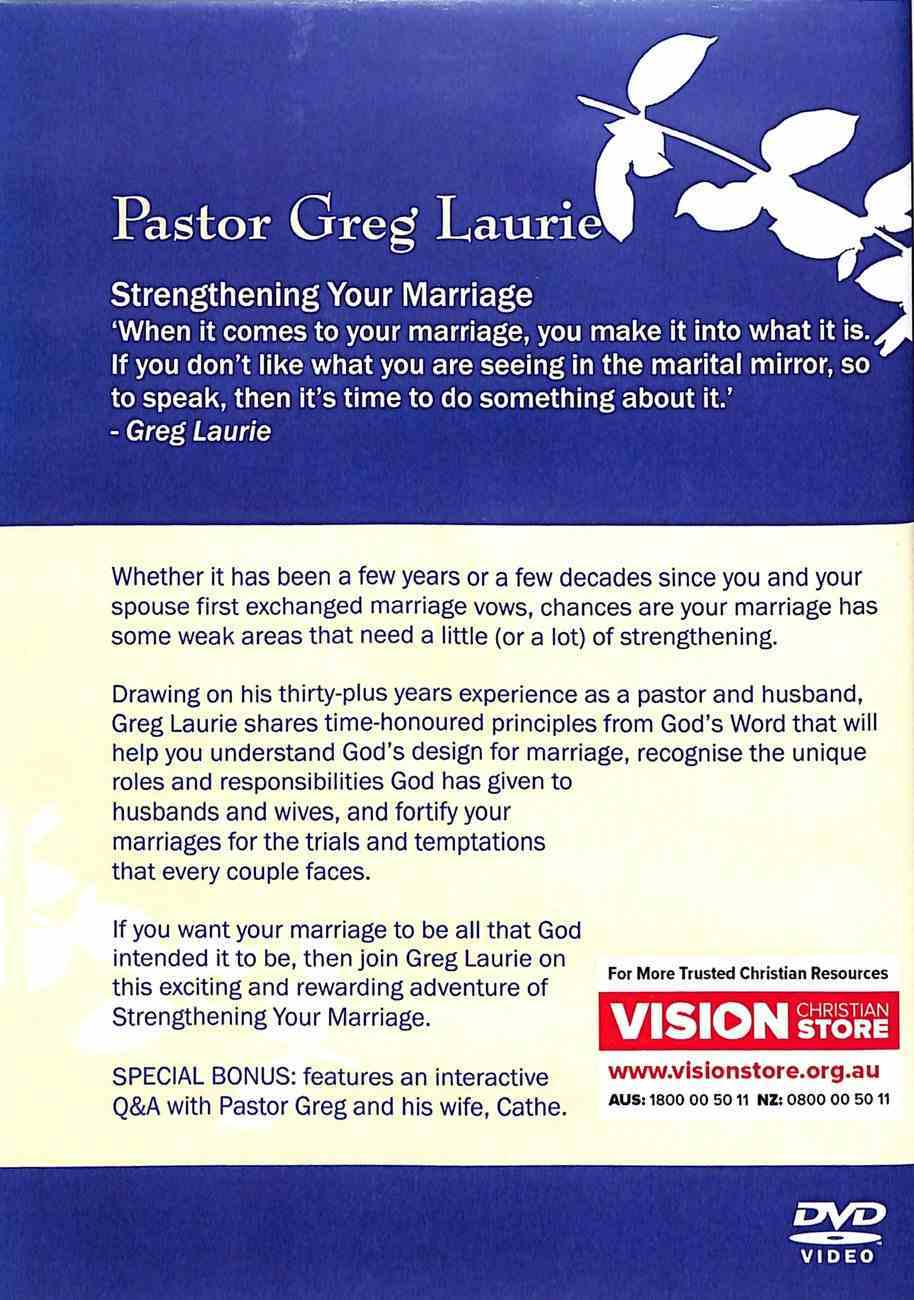 Strengthening Your Marriage DVD