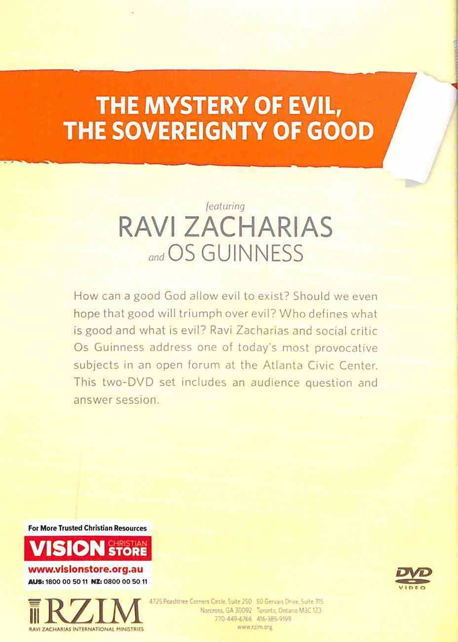 Mystery of Evil, the Sovereignty of God, the: Who Defines What is Evil Or Good? (2 Dvd Set) DVD