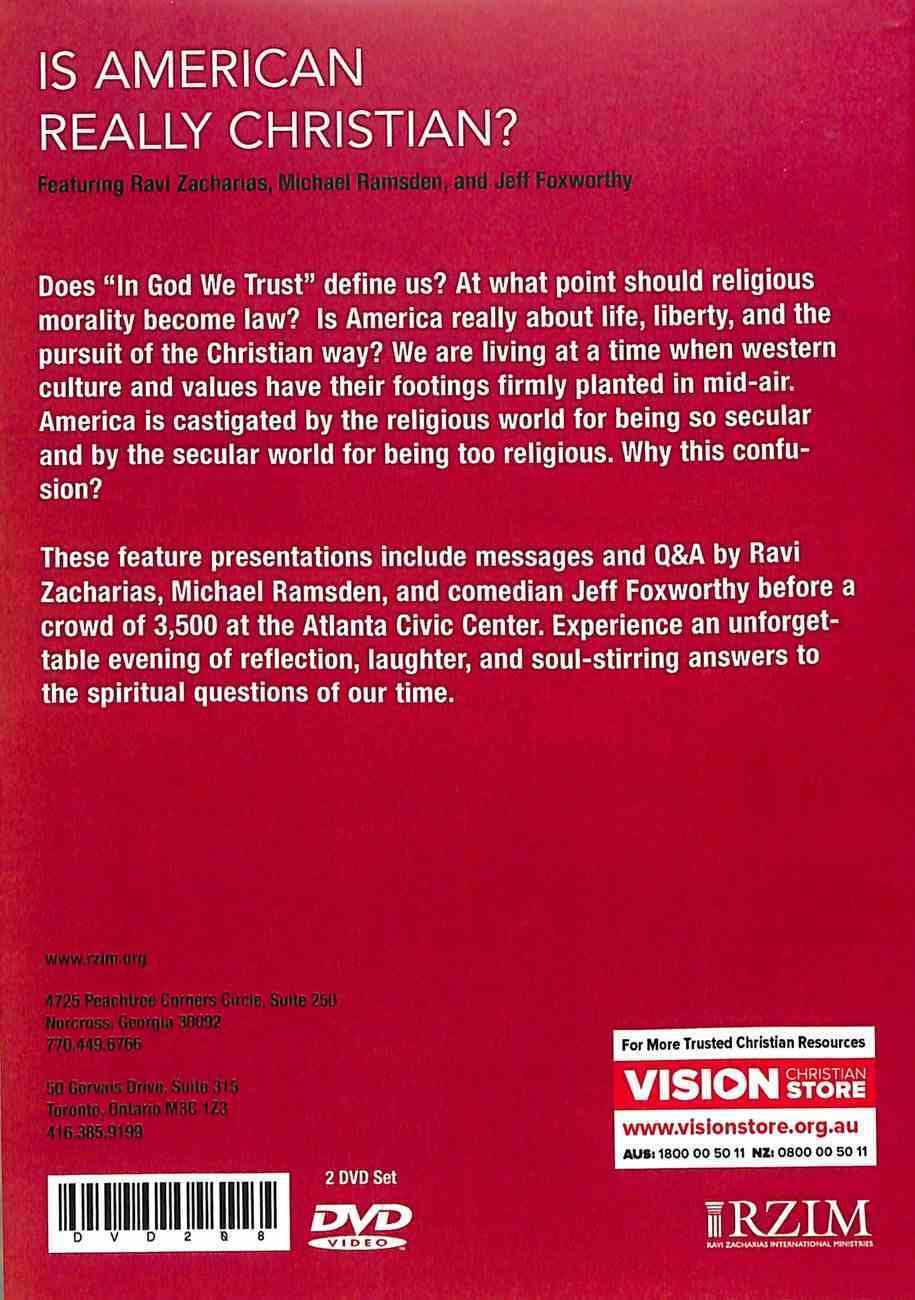 Is America Really Christian? (2 Dvd Set) DVD