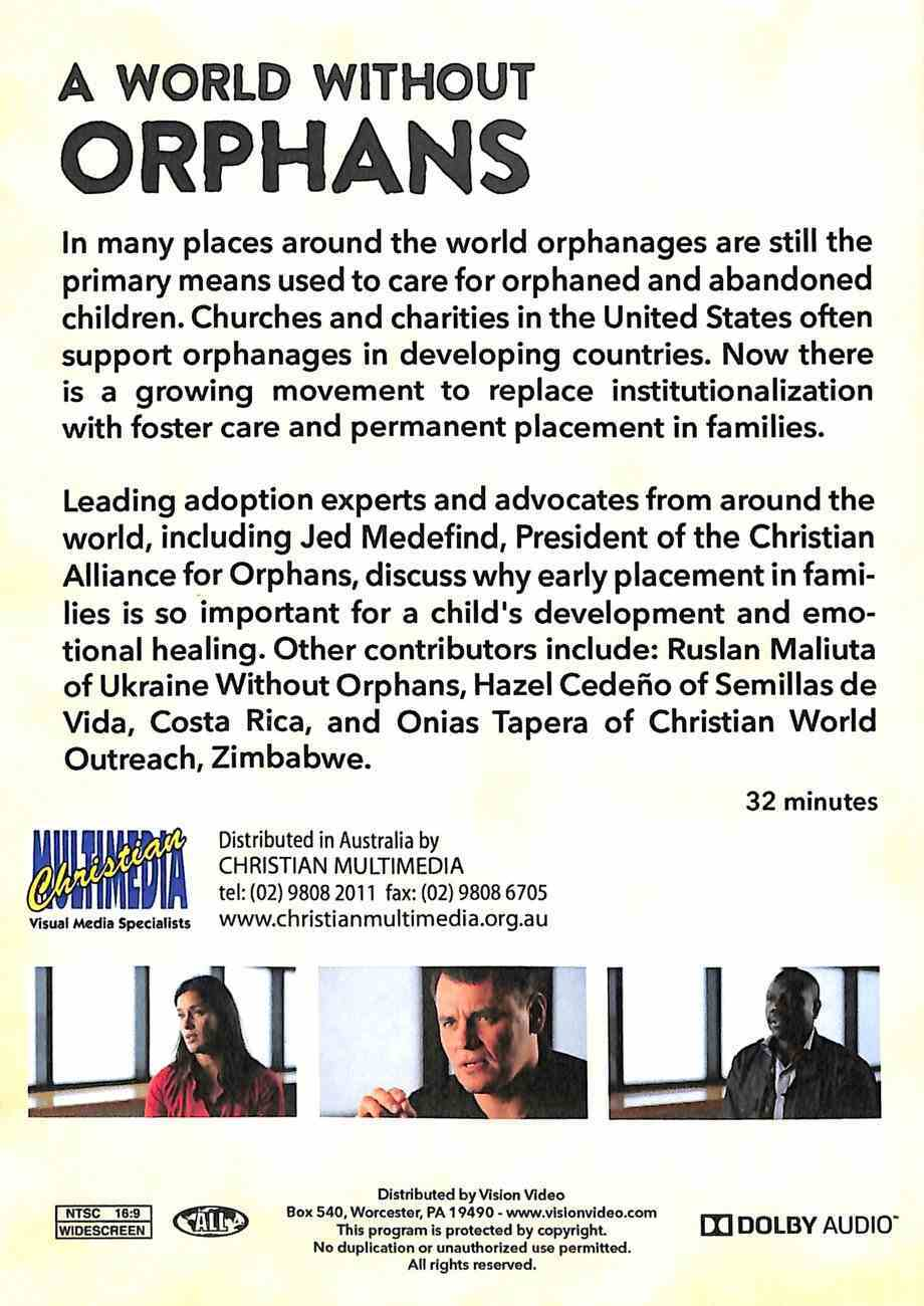A World Without Orphans DVD