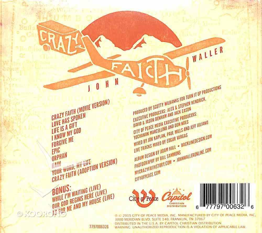 Crazy Faith CD