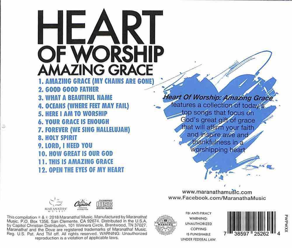 Ccli Heart of Worship - Amazing Grace (Heart Of Worship Series) CD