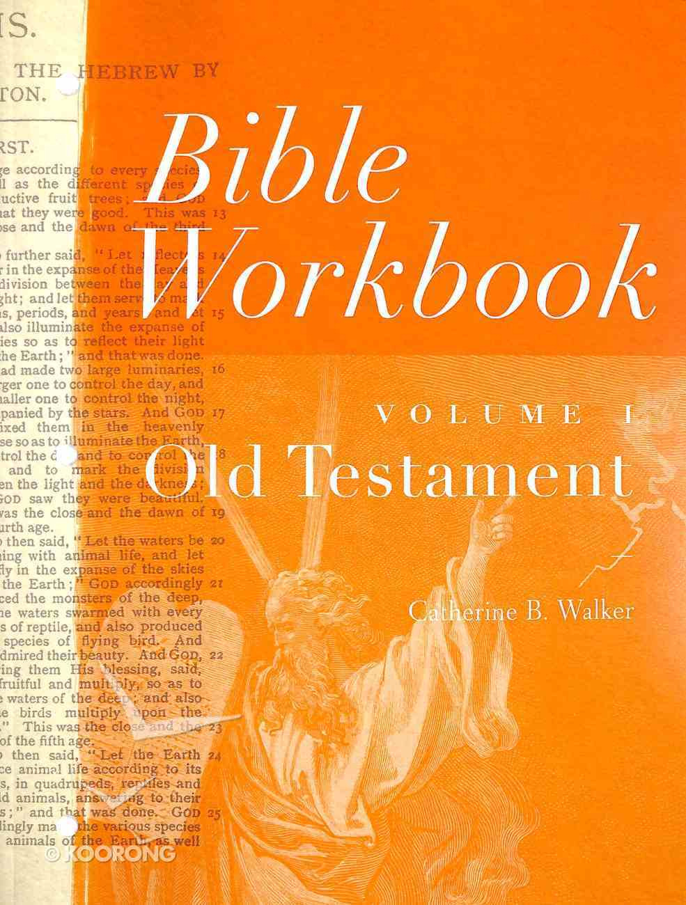 Old Testament (#01 in Bible Workbook Series) Paperback