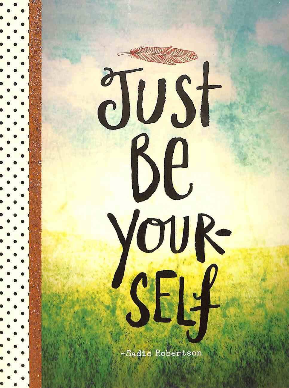 Sticky Note Set: Live Original - Just Be Yourself (Luke 12:37 Niv; Mark 9:23 NIV) (Sadie Robertson Gift Products Series) Stationery