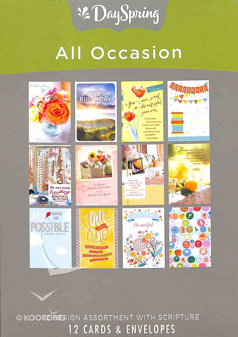 Boxed Cards: All Occasion - Variety Box
