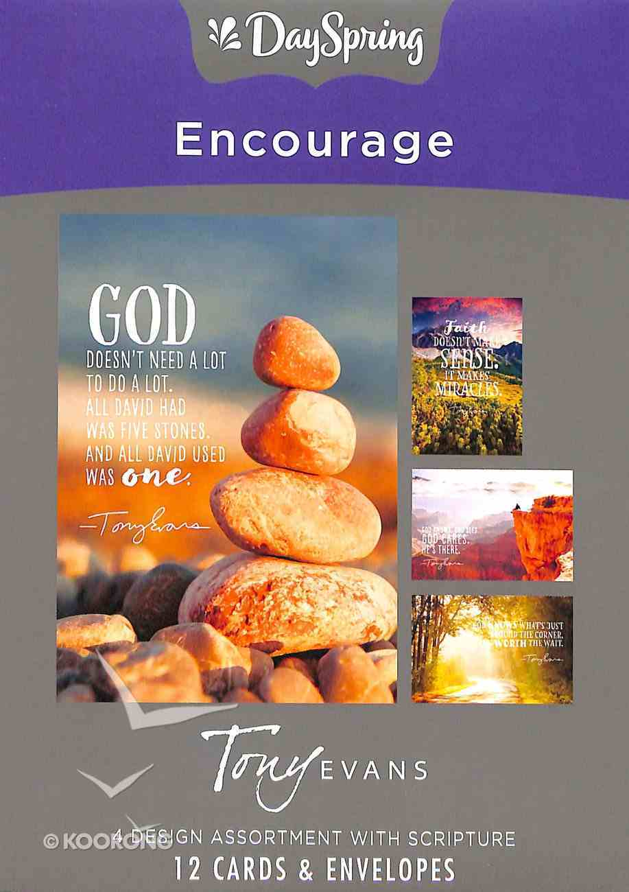 Boxed Cards Encourage: Tony Evans Box